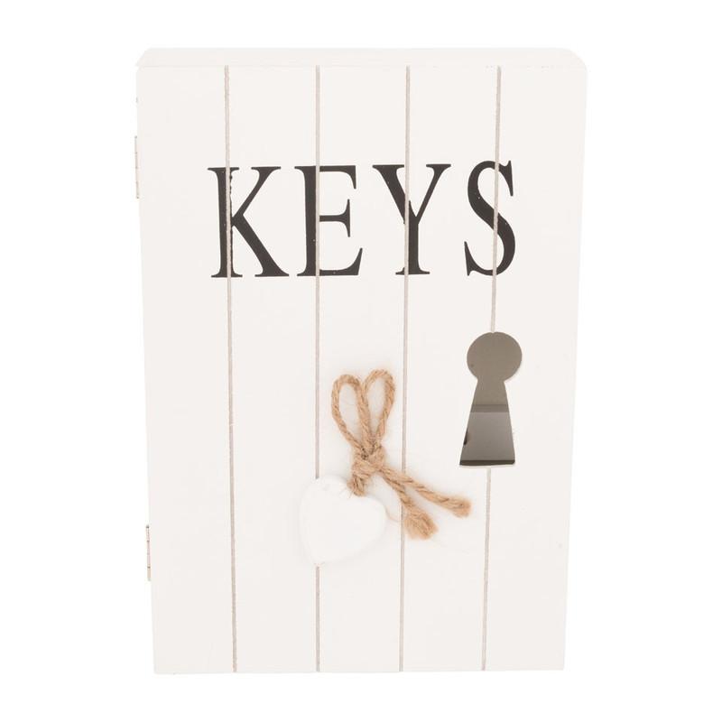 Sleutelkastje keys wit