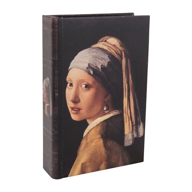 Opbergboekje meisje met de parel