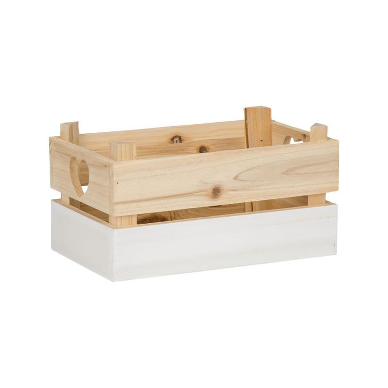 Kistje met witte dip - klein