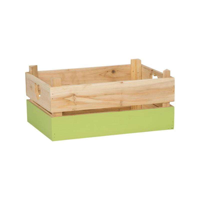 Kistje met groene dip - medium