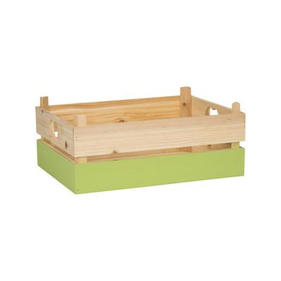 Kistje met groene dip - groot