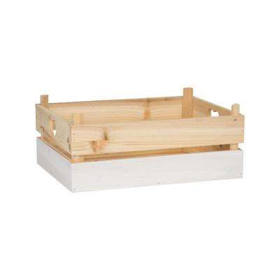 Kistje met witte dip - groot
