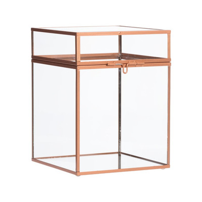 Glazen box - hoog - 15x20 cm