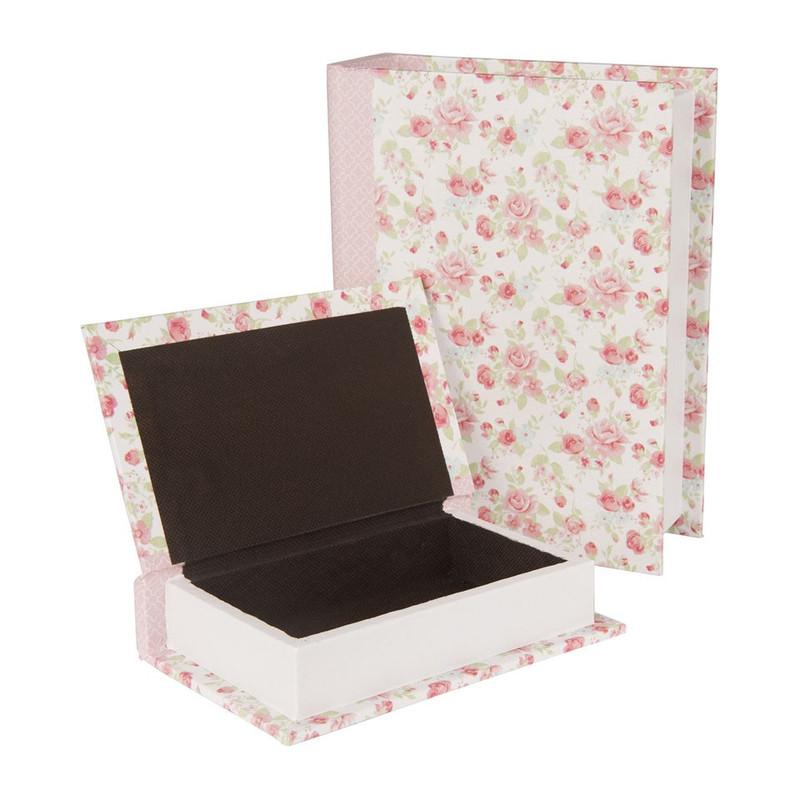 Opbergboek romantic rose roze klein