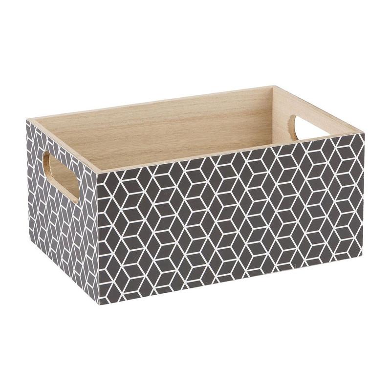 Kistje geometrisch- 24x16 cm