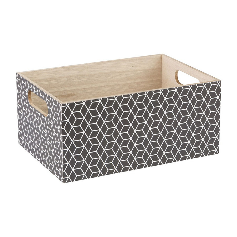 Kistje geometrisch- 29x20 cm
