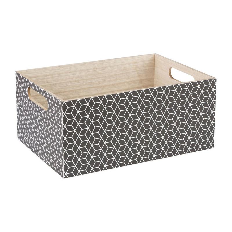 Kistje geometrisch - 34x24 cm