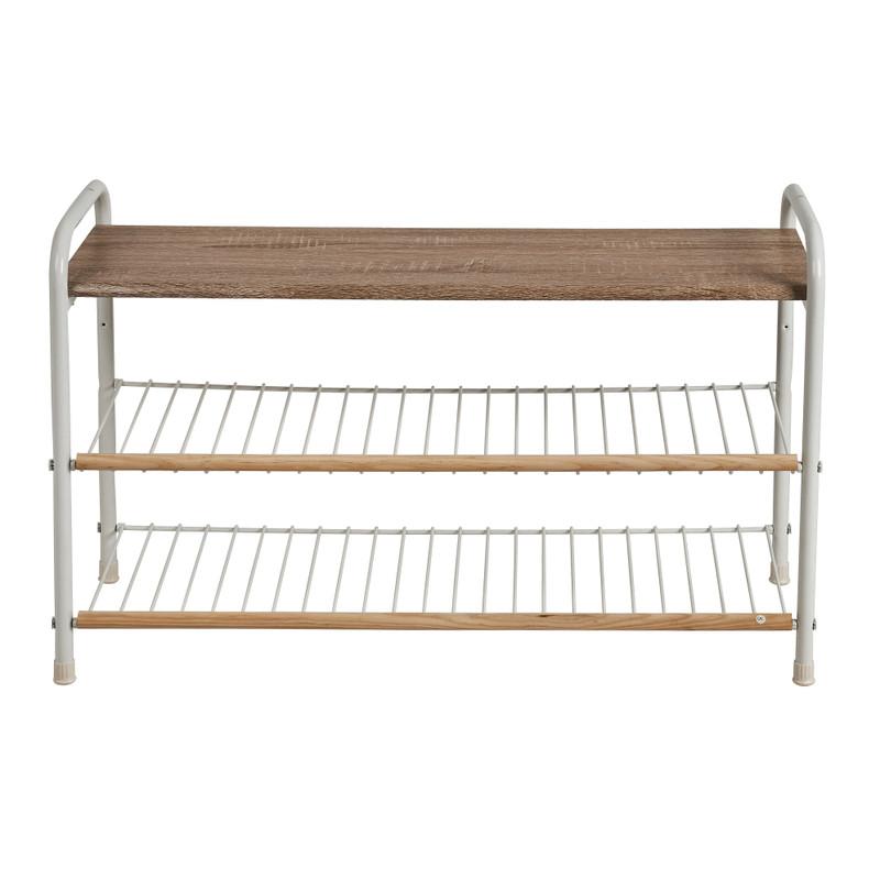 Schoenenrek Lily - 3 planken - 27x50.5x80.5 cm