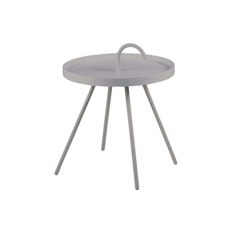 Bijzettafel Borba - 51x62.5 cm - grijs