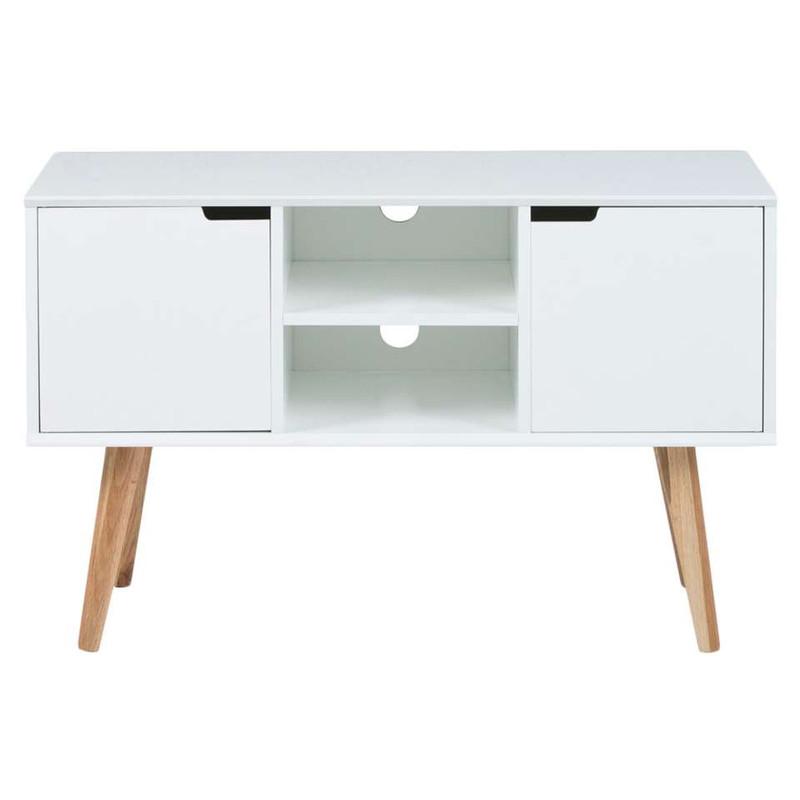 TV-dressoir Lagoa - 38x96x62.5 cm - wit