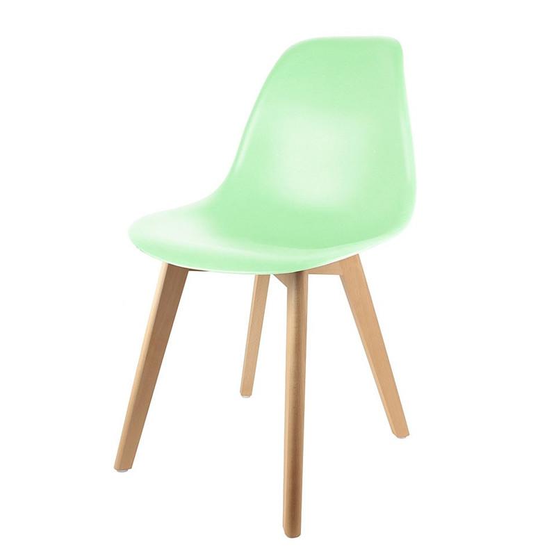 Eetkamerstoel Umea - groen - set van 2