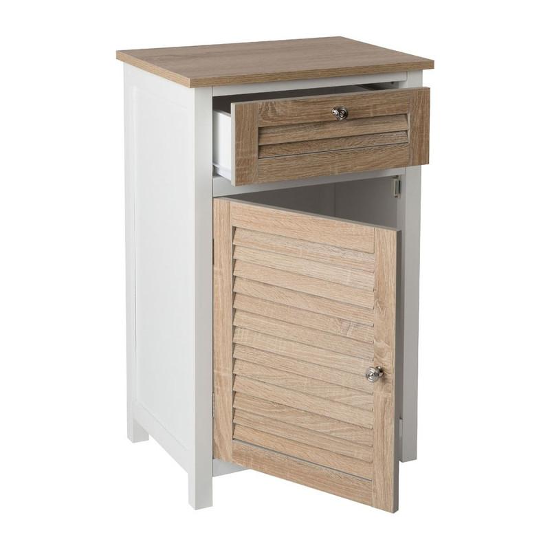 Kast - lade en deurtje - 45x35x72 cm