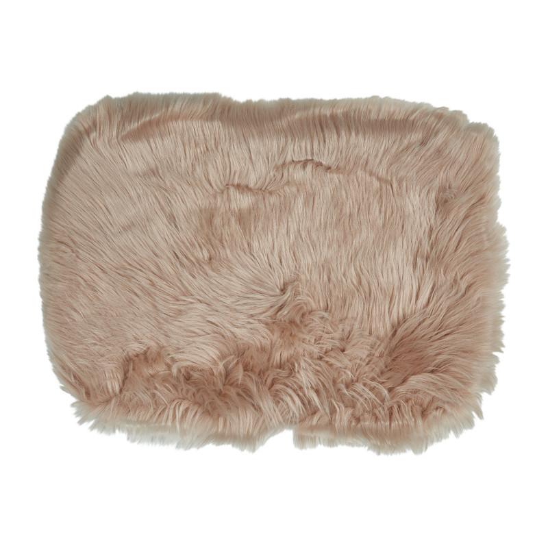 Bontkleedje roze - 32x45 cm