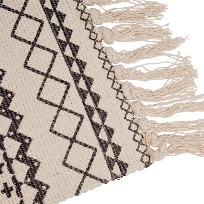 Fonkelnieuw Vloerkleed azteken patroon - zwart/wit - 90x60 cm   Da's leuk van JF-88