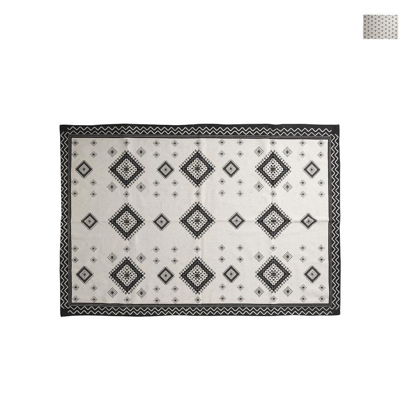 Vloerkleed azteken zwart - diverse varianten - 175x120 cm