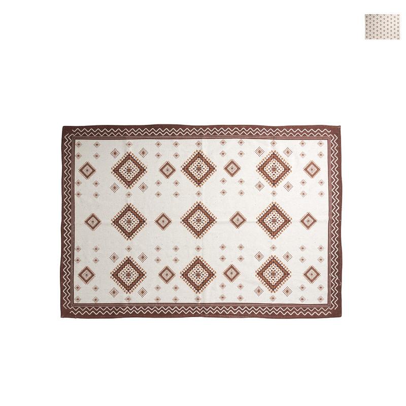 Vloerkleed azteken rood - diverse varianten - 175x120 cm