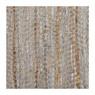 Vloerkleed leer/jute - 120x180 cm - beige/grijs