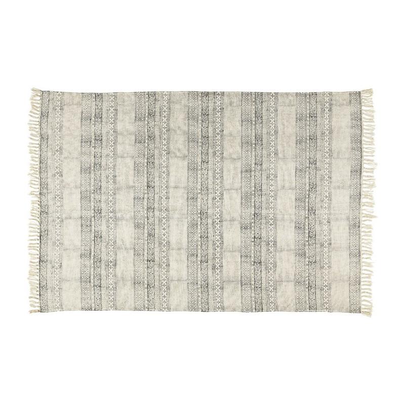 Vloerkleed decoratieve streep - 60x90 cm