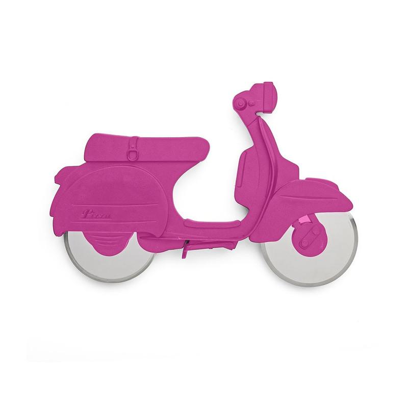 Pizzasnijder scooter roze