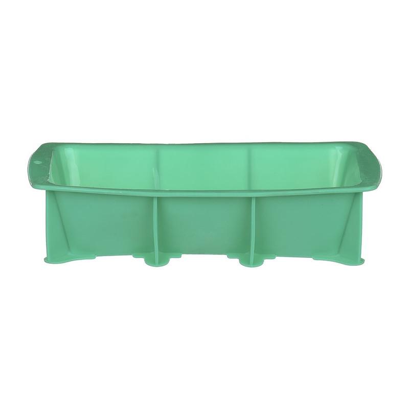 Cakevorm siliconen - 14x28.5x7 cm - turquoise