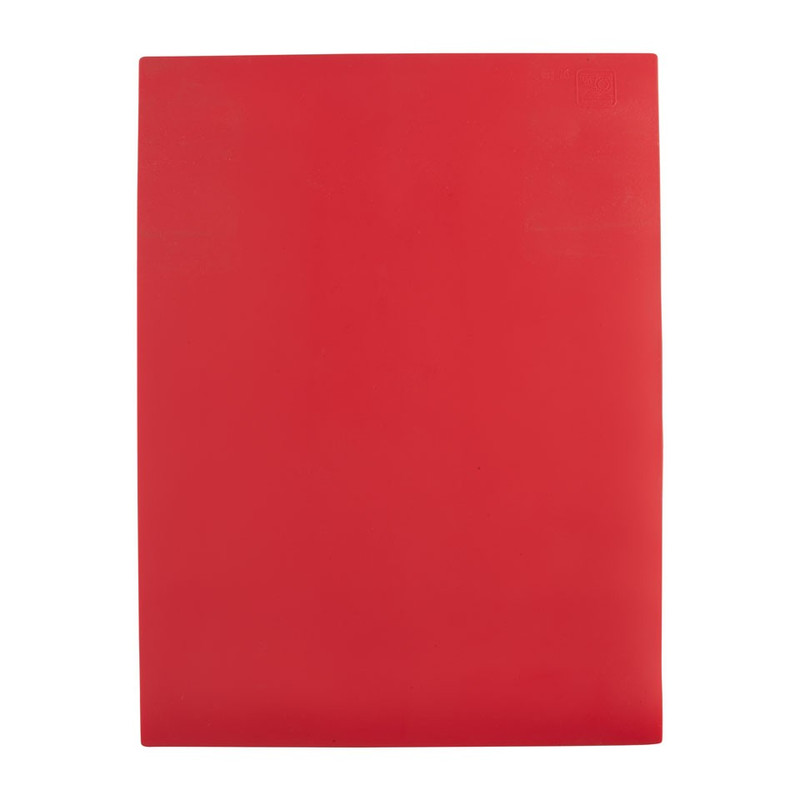 Bakmat siliconen rood 39.5x30 cm