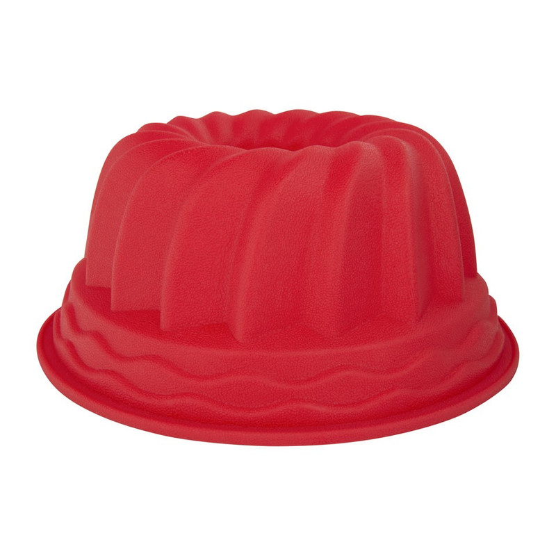 Tulbandvorm siliconen rood