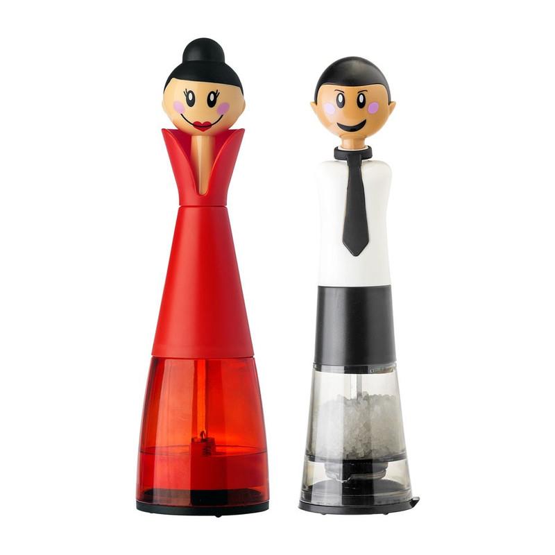 Vigar peper- en zout stel  - man/vrouw