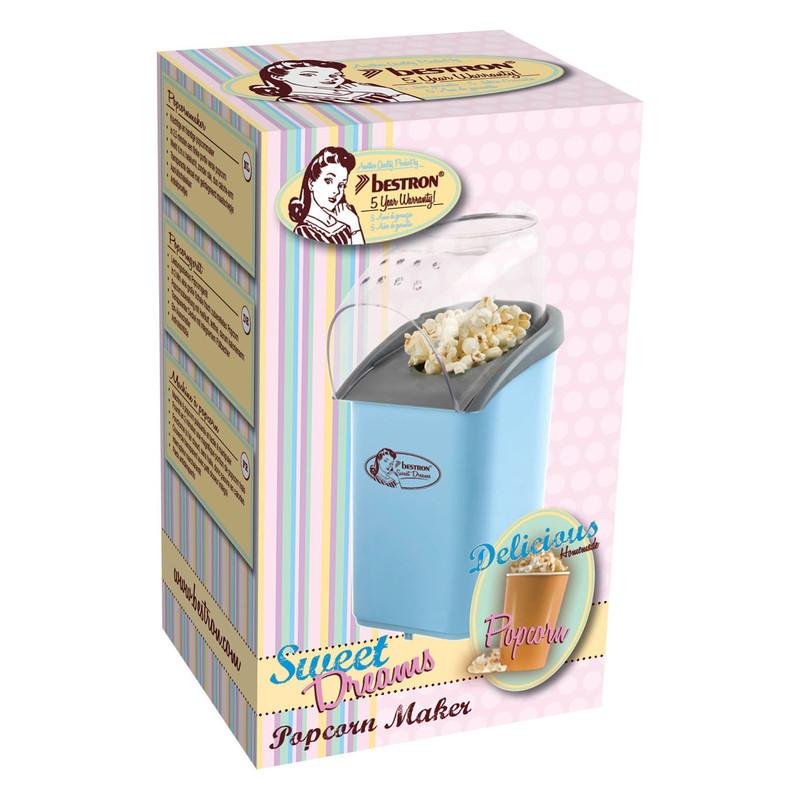 Bestron Popcornmaker - Blauw