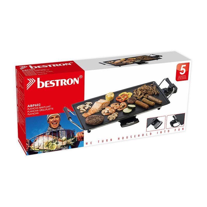 Bestron Bakplaat / Plancha - 48x27cm - 2000W