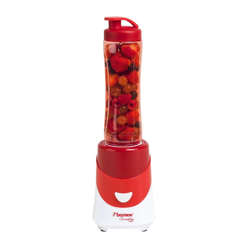 Bestron Smoothie maker - 300W - rood