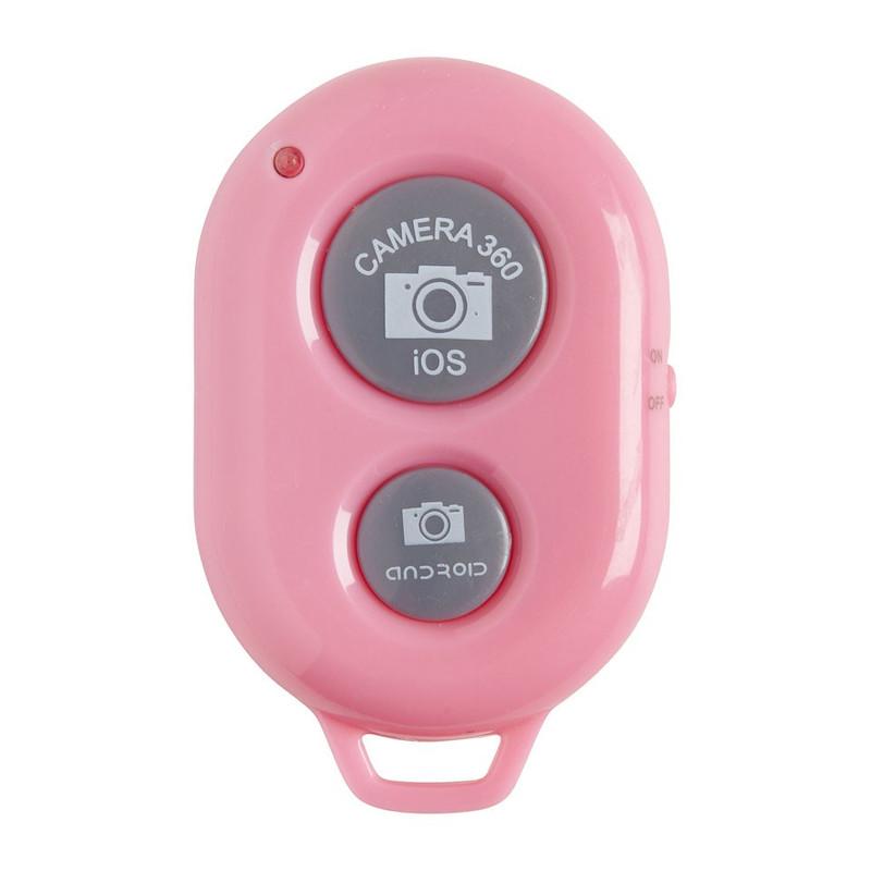 Bluetooth zelfontspanner roze