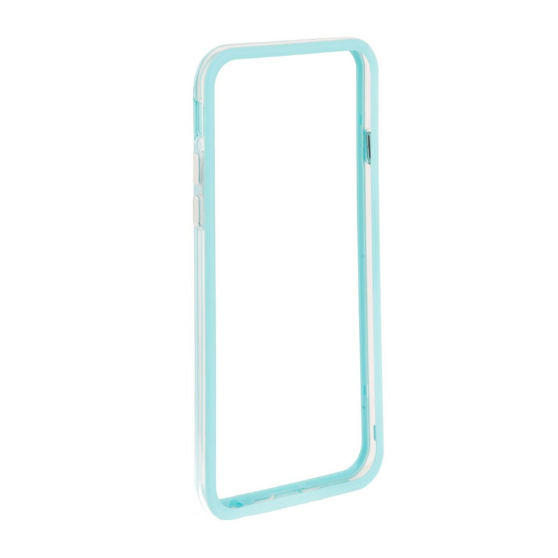 iPhone 6 Bumper lichtblauw