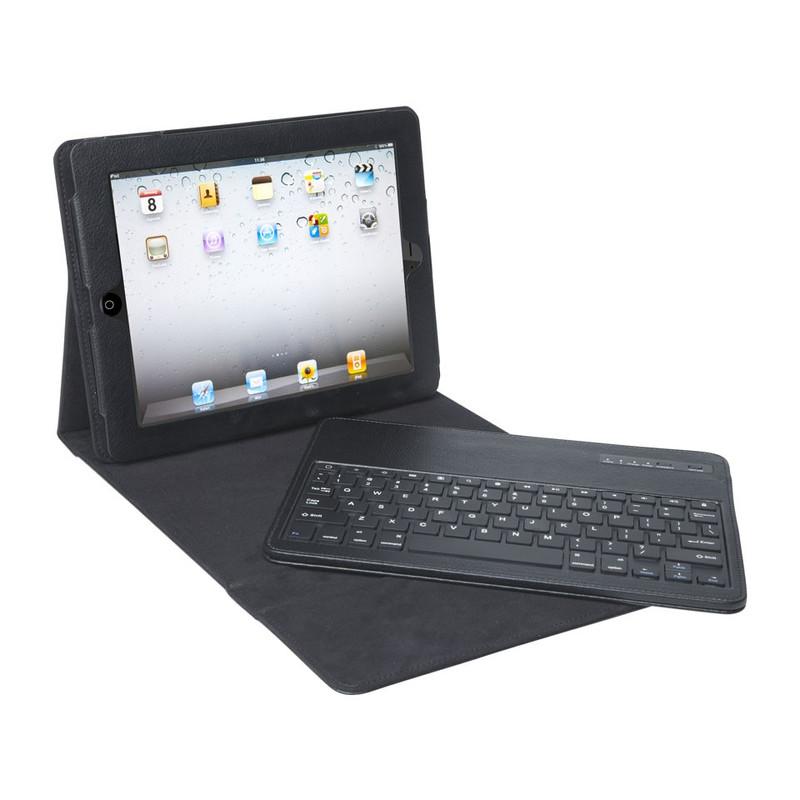 iPad hoes met toestenbord zwart