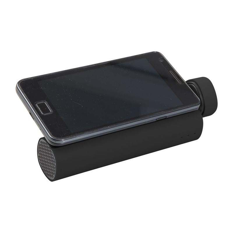 Mobiele oplader en speaker 3 in 1 Zwart