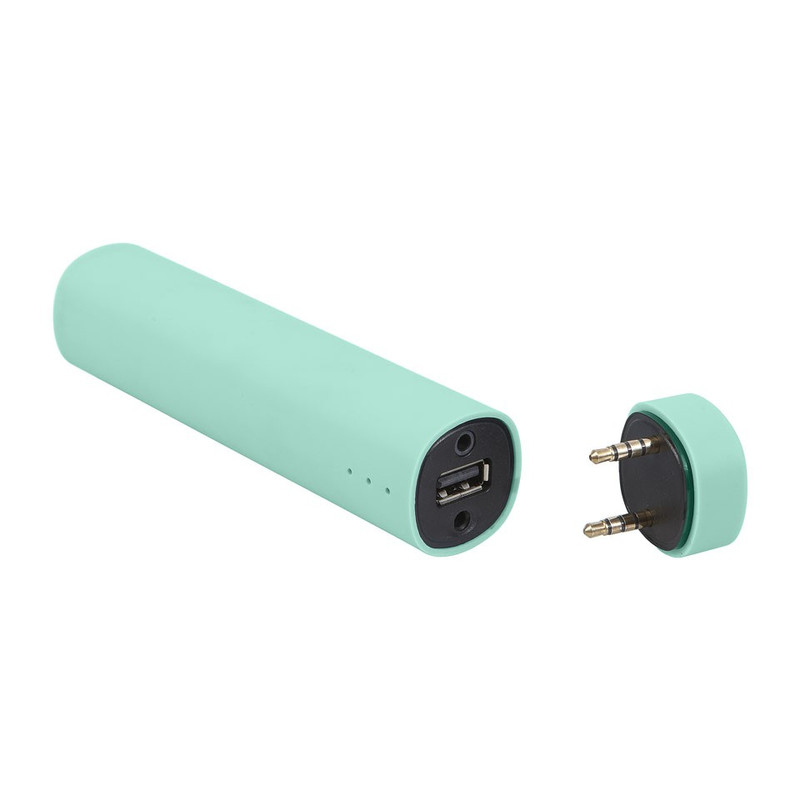 Mobiele oplader en speaker 3 in 1 Mintgroen