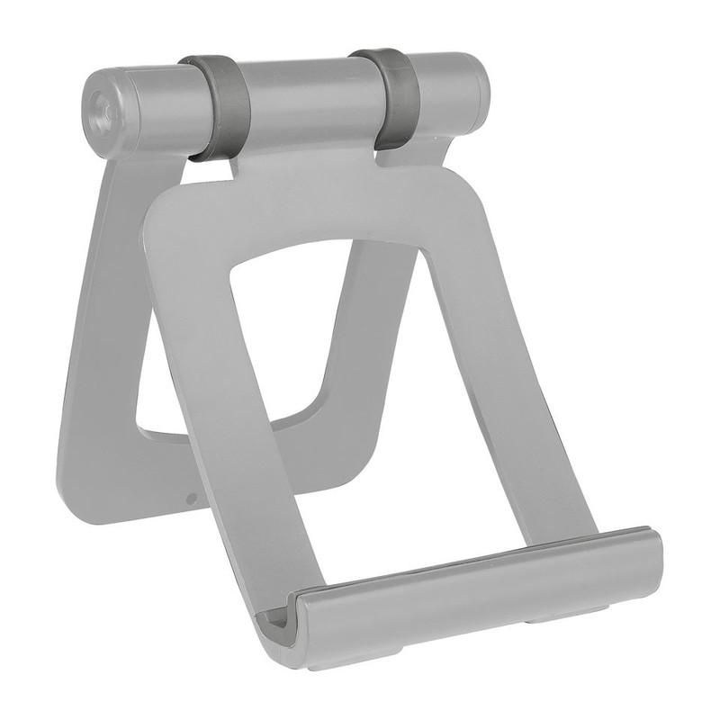Tabletstandaard krom zilverkleurig
