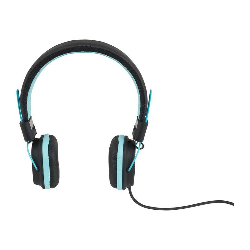 Koptelefoon duo tone blauw