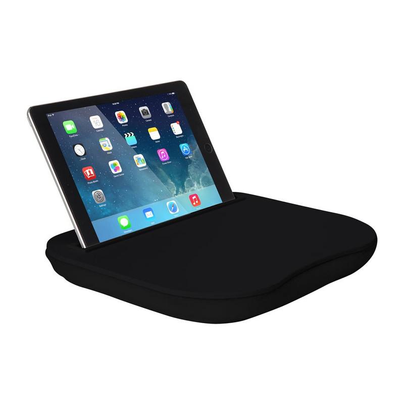 Schoottafeltje voor tablet zwart