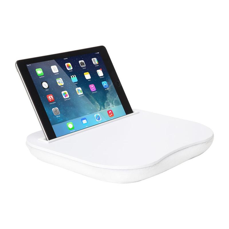 Schoottafeltje voor tablet wit