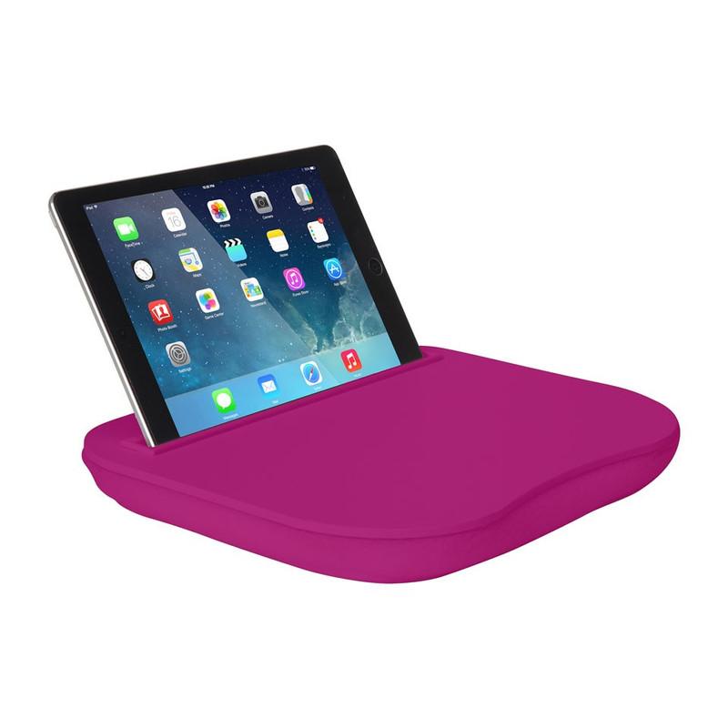 Schoottafeltje voor tablet roze