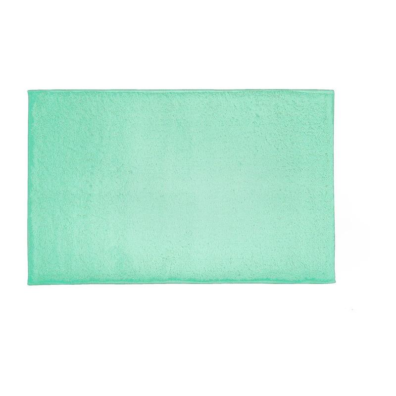 Badmat fluffy - 50x80 cm - groen