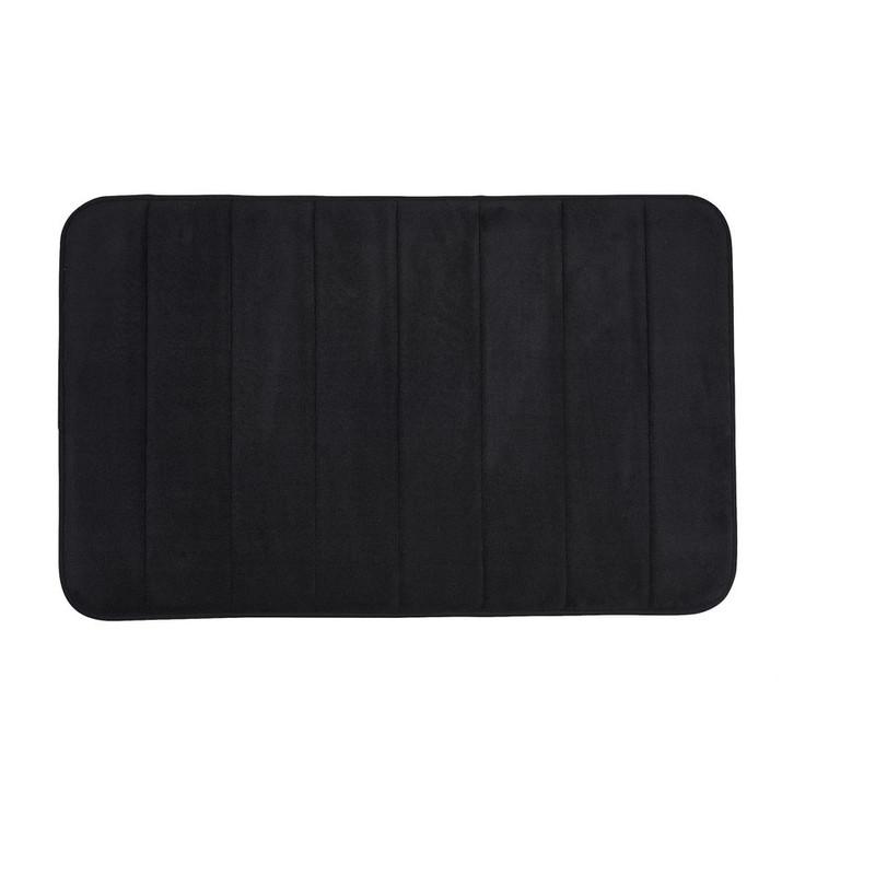 Badmat foam zwart