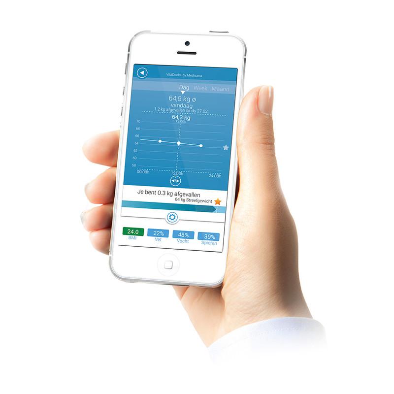 Medisana connect lichaamsanalyse weegschaal BS444
