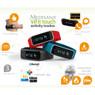 Medisana ViFit touch activity & sleep tracker - zwart