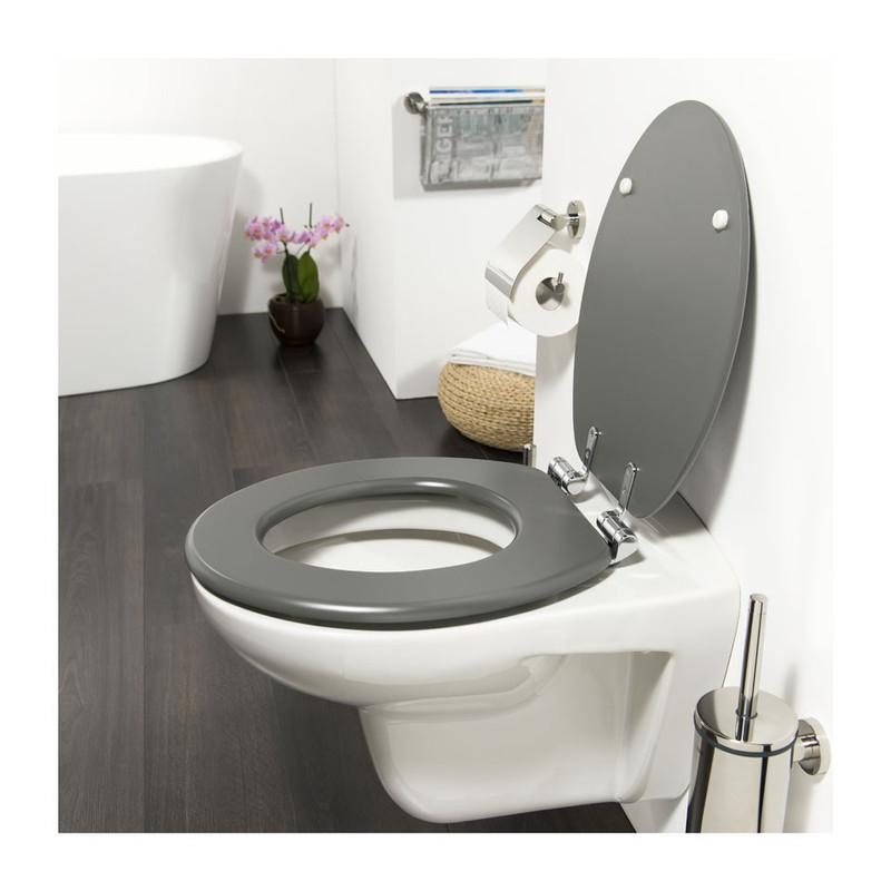 Tiger toiletzitting Baya - MDF - lava grijs
