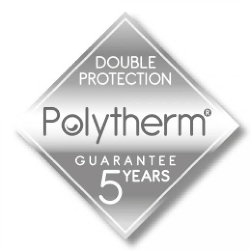 Metaltex Onda - hoekrek 2 verdiepingen - 22x22x35 cm - polytherm