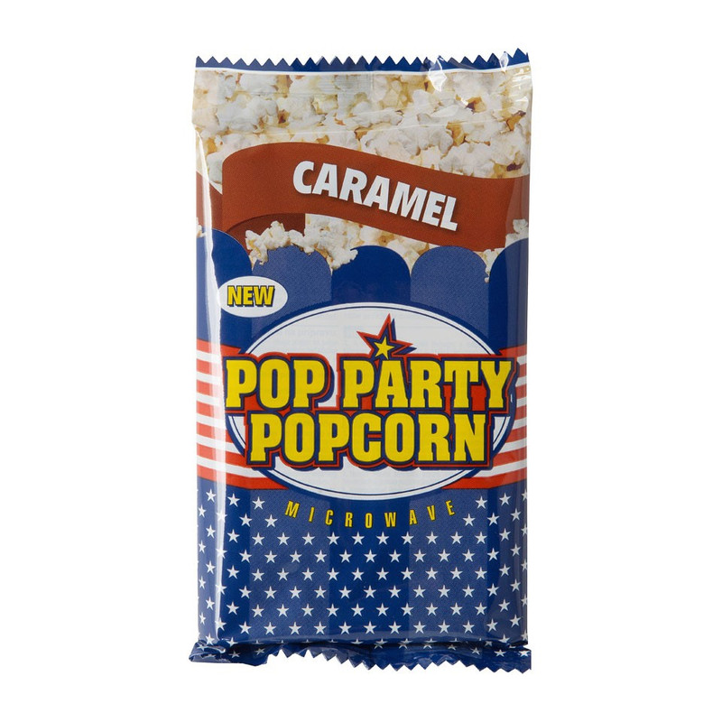 Magnetronpopcorn - caramel