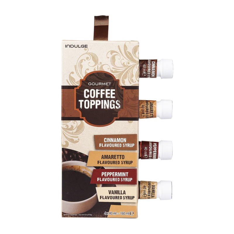 Coffee topping set