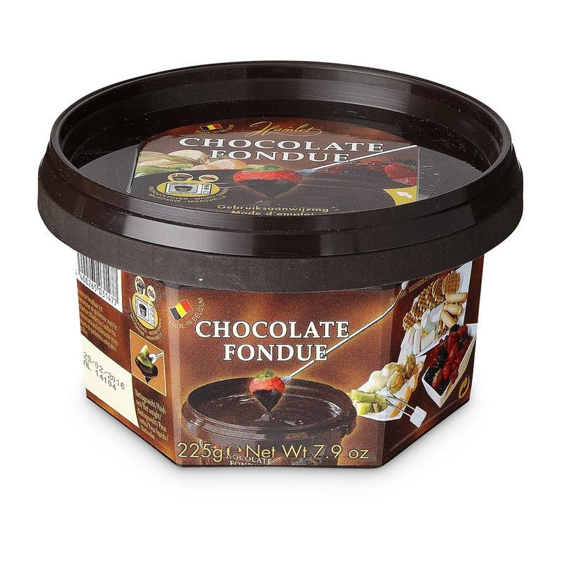 Hamlet fondue chocolade puur - 250 g