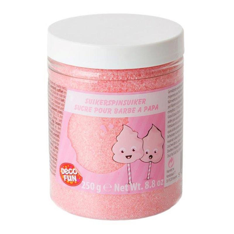 Suikerspinsuiker - roze